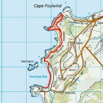Cape Foulwind Map