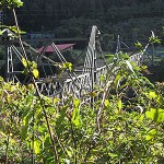 Brunner Mine footbridge