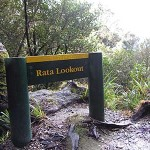 Rata Lookout sign
