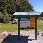 The Nelson Creek Recreation Reserve welcomes visitors.