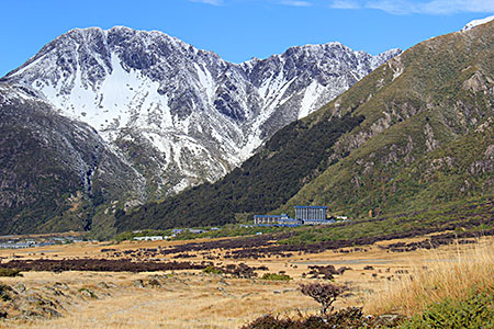 The Hermitage at Mount Cook.