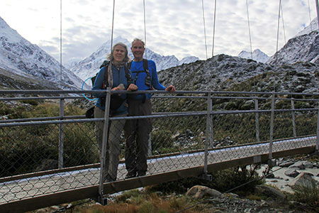 Mount Cook in the background.